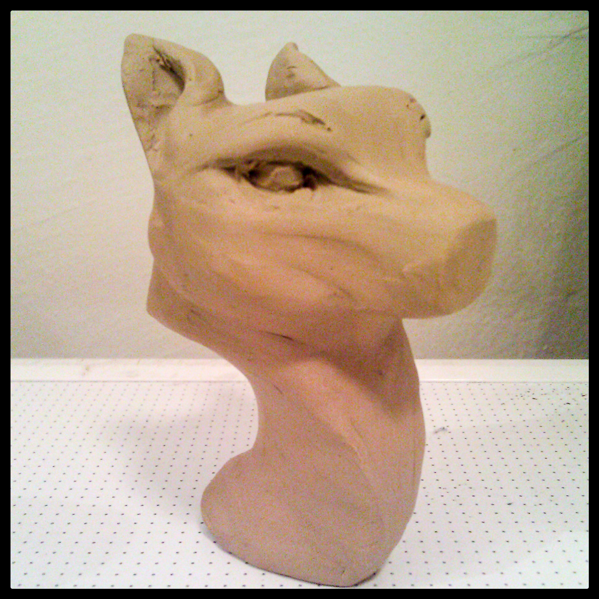 canine bust